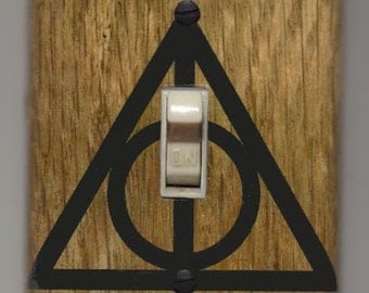 Harry Potter Light Switch Cover Plate - Lumos Nox