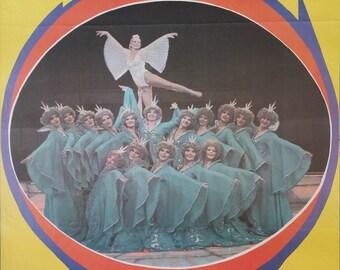 "1970s Russian Circus Poster ""Circus Pebio"" - Original Vintage Poster"