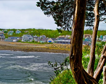 View from Marginal Way, Ogunquit, Maine, Beach Photograph