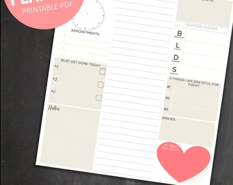 Cute daily planner   Etsy
