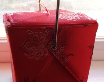 Yans Take Out box purse