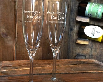 Champagne flutes, Wedding champagne flutes, Toasting glasses, wedding toasting glasses, Champagne Flutes, Toasting Flutes