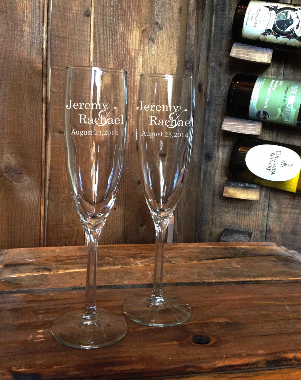 personalized champagne flutes champagne flutes champagne. Black Bedroom Furniture Sets. Home Design Ideas