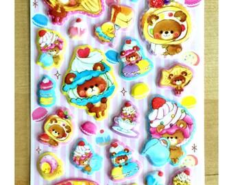 Sticker Bubble Cake Bear SM202722