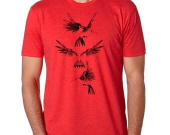 Steampowered Humming Bird Shirt 6210