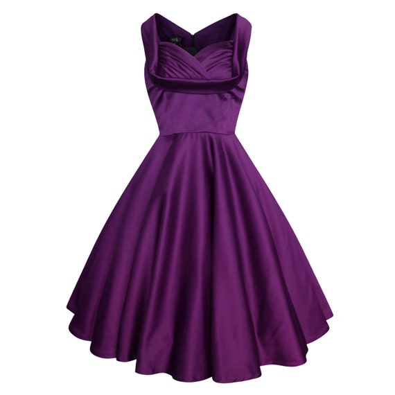 Purple Christmas Dress Vintage Wedding Dress By