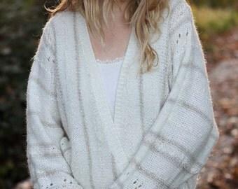 Vintage White Shrug Sweater