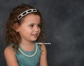 Rhinestone Headband/Baby Headband/infant headband/ Headband/Newborn Headband/Photo prop