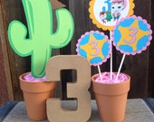 Sheriff Callie Birthday Party Centerpiece | Birthday Decorations - Sheriff Callie Party