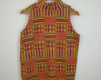 60s Multi Color Mini Dress