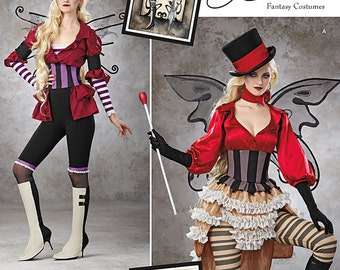 Sewing Pattern-Simplicity 1301 -Steampunk Circust Costume Plus Size