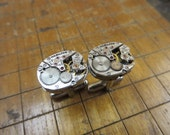 Hamilton 757 Watch Movement Cufflinks. Great for Fathers Day, Anniversary, Groomsmen or Just Because.  #220