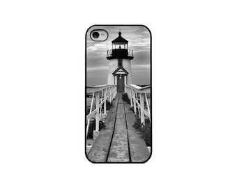 Nautical iPhone 4 4s case Samsung Galaxy S3 Lighthouse Phone Case Nantucket Beachy Ready To Ship iPhone Case Cape Cod Cell Phone Case
