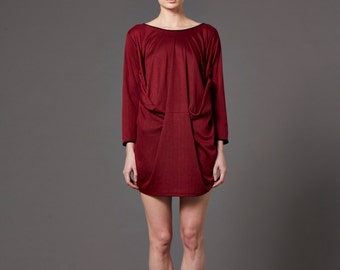 SALE - Light draping jersey dress