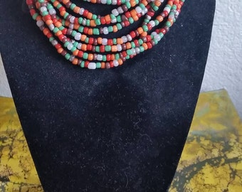 Beautiful 54 inch necklace to be worn multiple ways.
