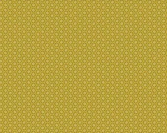 Daisy Dot in Chartreuse fabric is from the new Wildflowers Collection by Alisse Courter for Camelot Fabrics #2240204-2