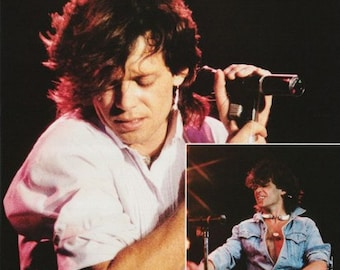 John Cougar Mellencamp Collage 1984  Rare Poster