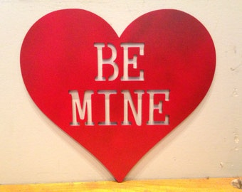 Be Mine Valentines Heart, customizable