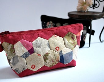 Pattern *Hexagon Patchwork Pouch*
