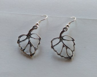 Falling Autumn Leaves Dangle Earrings