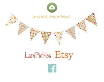 Scrapbook Party Design #5 Party Banner