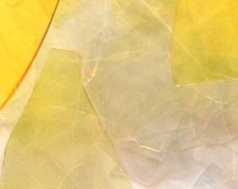 Iris Gold Reichenbach COE 96 Glass Shards 1 OZ R-217 Lampwork