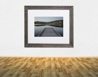 Barnwood Frame - Horne Lake Dock