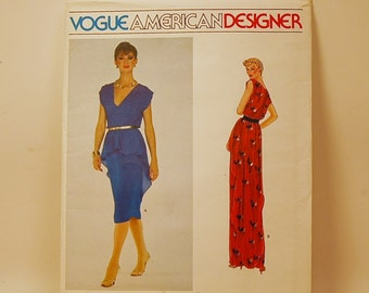 Vogue Kasper 2331 Dress Pattern Size 14 UNCUT