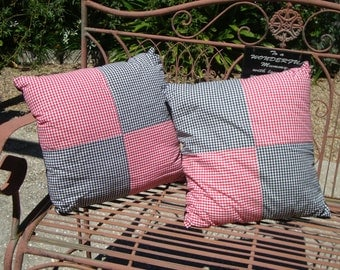 Pair of Retro Cushion Cover - Pillow Cover - Throw Pillow Cover