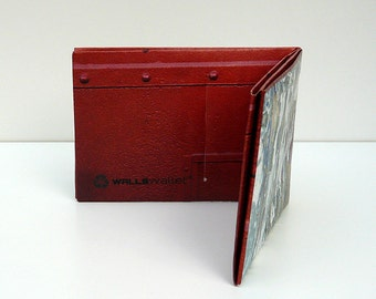 WALLSWALLET RED TYVEK