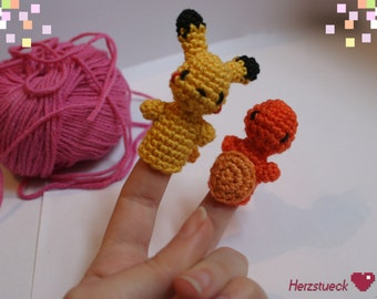 Pokemon-inspired Fingerdolls
