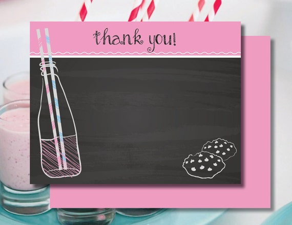 Thank You For Baking: Items Similar To Cooking Party Thank You Cards, Kids