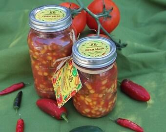 Corn Salsa - Homemade (vegan, gluten-free, vegetarian)