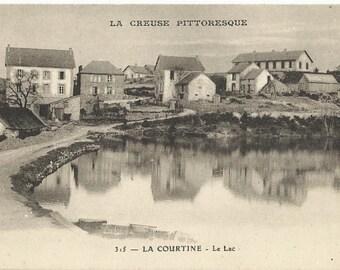 Creuse - La Courtine, France, circa 1918 Unused Postcard