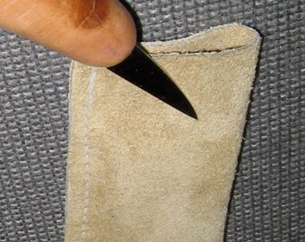 Knife Sheath for Woodcarving Knifes Knife not included.  Helps protect You and your Knife