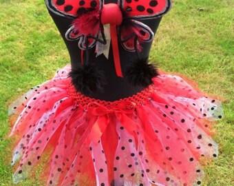 Ladybug tutu (skirt only)