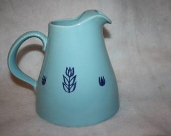 Retro Cronin tulip pitcher, made in USA, 1950s