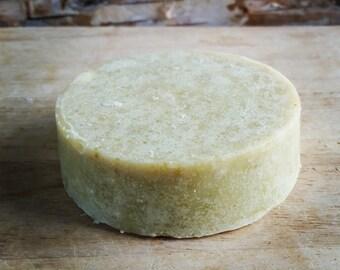 Lime Basil Goat's Milk Shaving Soap