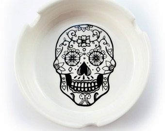 Ashtray - Sugar Skull