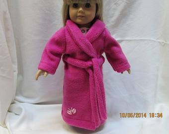 Fleece Robe for 18 Inch Doll