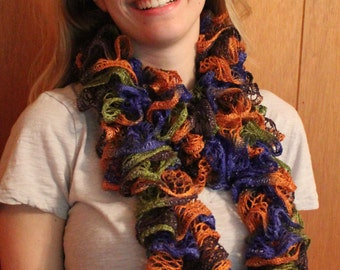 Whirly, Twirly multicolored scarf
