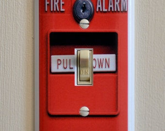 Fire Alarm Light Switch Wall Plate Cover