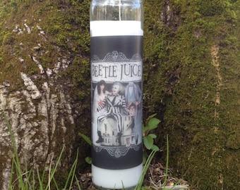 Beetlejuice Candle