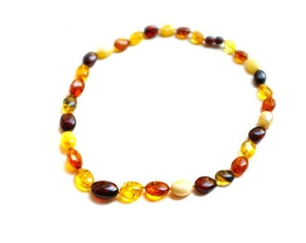 "Luxury Amber Necklace ""Childhood memories"""