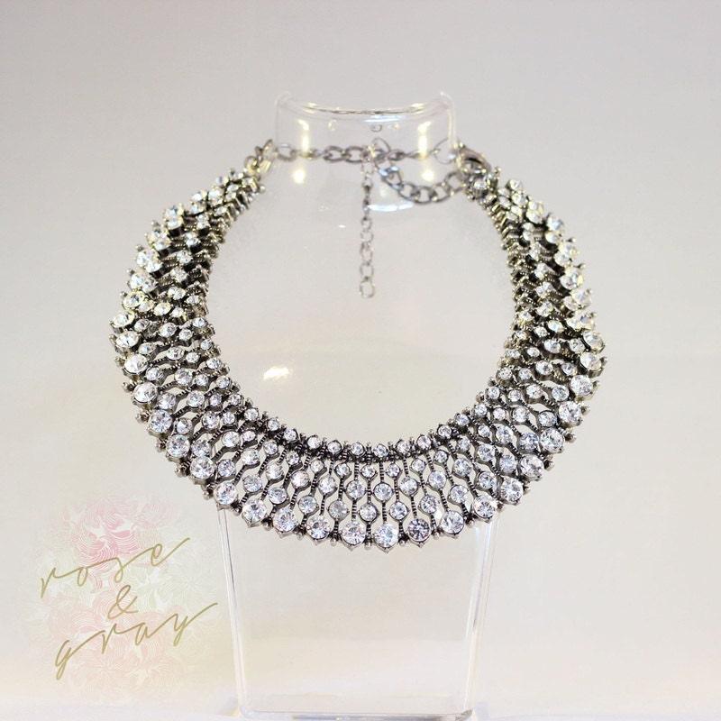 kate middleton zara vintage statement necklace choker