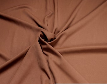 Fabric polyester rayon denim rust absolutely crease-resistant opaque solid warm LARP