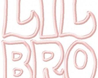Lil Bro Applique
