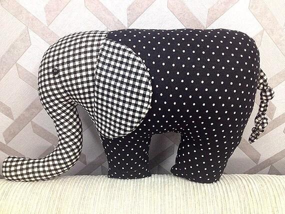 Handmade Mama size Elephane Plushie
