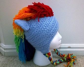 My Little Bronies Pony Hat- Crochet Pattern
