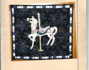 Carrousel Horse Pattern by The Quail and Poppy